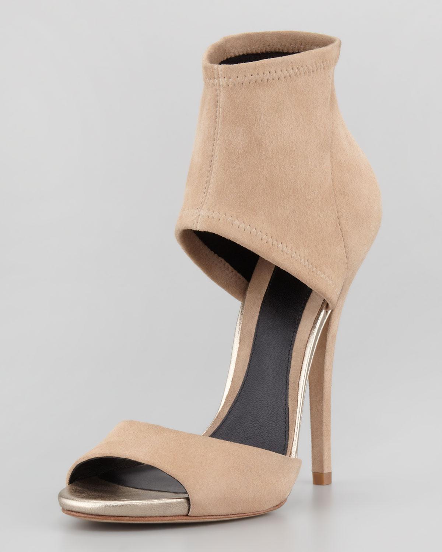 e6c967544ed Christie Brinkley Studded Sandals vs Jenni Farley Flat Sandals ...